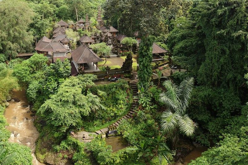 Pura Gunung Lebah Temple in Ubud