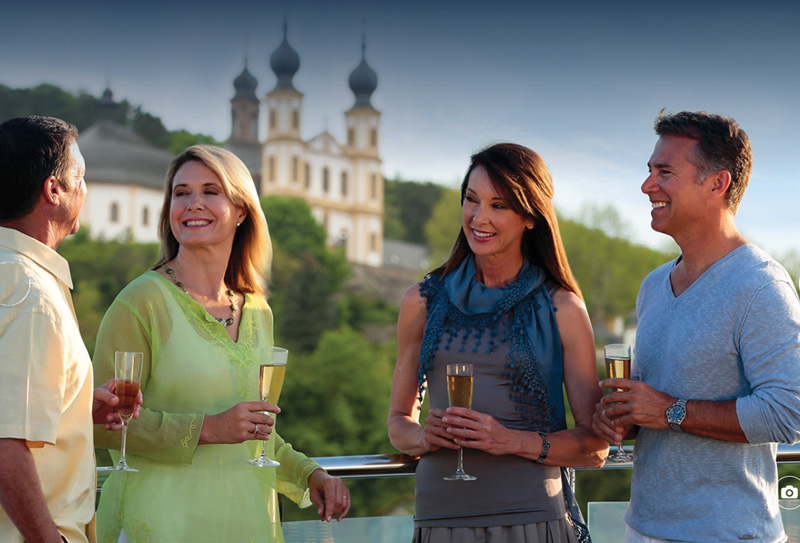 River cruises offer a more intimate experience, and the chance to get to know fellow guests.