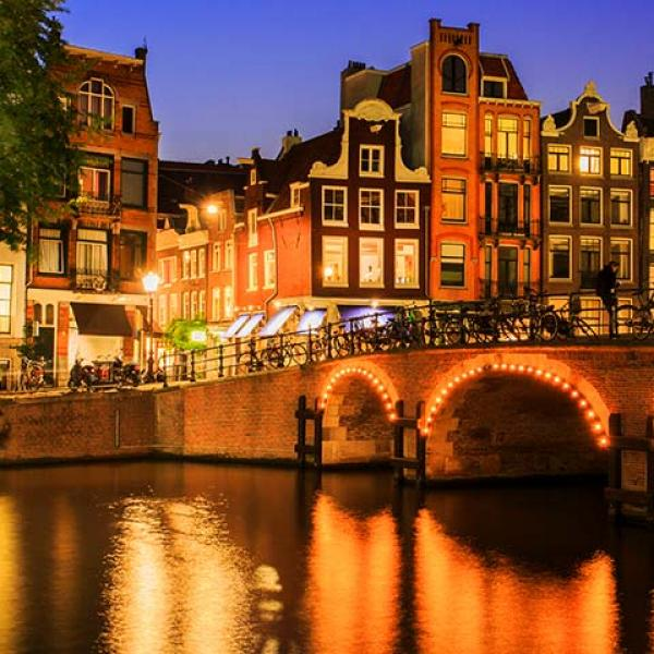 Amsterdam, Netherlands river canal