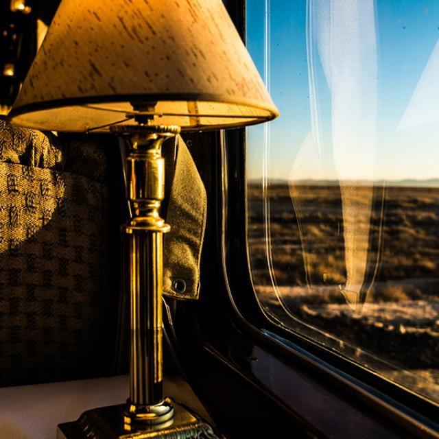 The Ghan rail journey