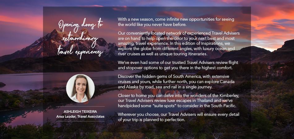 Opening doors to extraordinary travel experiences